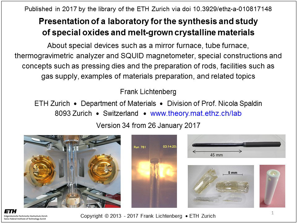 Presentation about a laboratory for the synthesis and study of melt presentation 1 slide toneelgroepblik Images